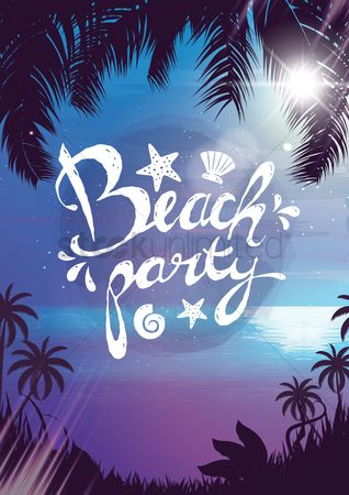 Summer : Summer beach party
