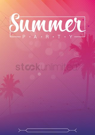 Seashore : Summer beach party