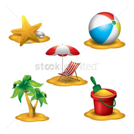 Starfishes : Summer theme items