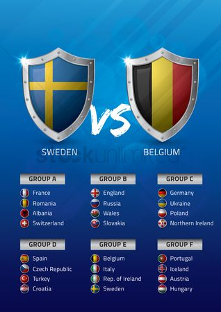 Ukraine : Sweden vs belgium