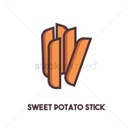 Crispy : Sweet potato stick