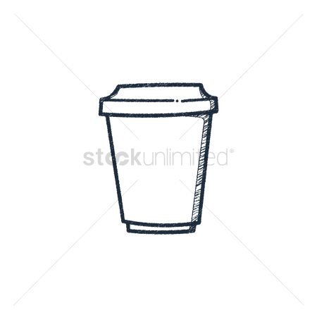 Take away cup : Take away warm drink cup