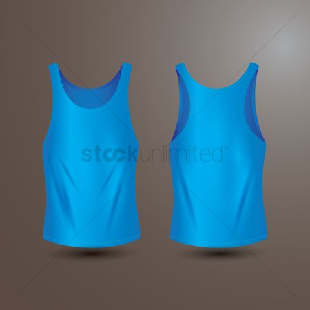 Backview : Tank top
