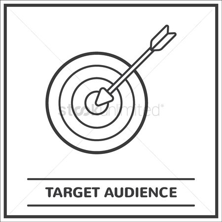 Dartboard : Target audience concept