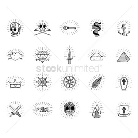 Diamonds : Tattoo collection