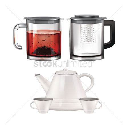 Teapot : Tea kettle set