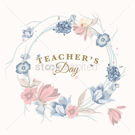 Joyful : Teacher s day design