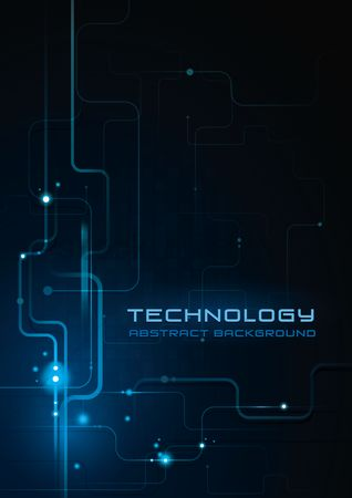 Graphic : Technology background