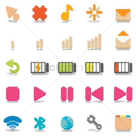 Charging icon : Technology icons