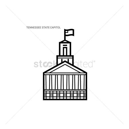 Tennessee : Tennessee state capitol