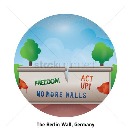 Barrier : The berlin wall