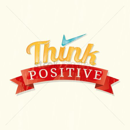 Thinking : Think positive quote