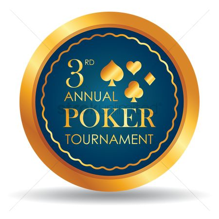 Poker chips : Third annual poker tournament chip