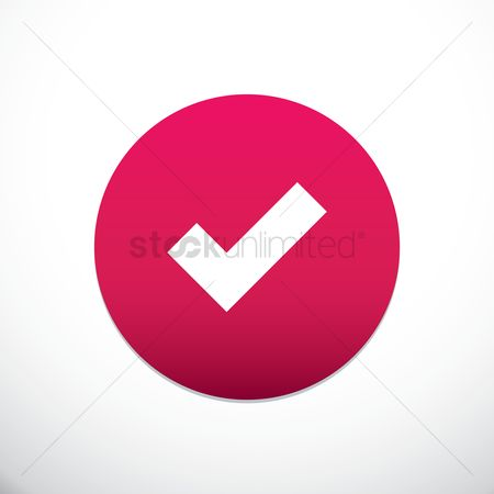 User interface : Tick mark icon
