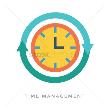 Minute : Time management concept