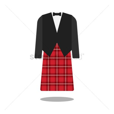 Skirt : Traditional clothes of scotland