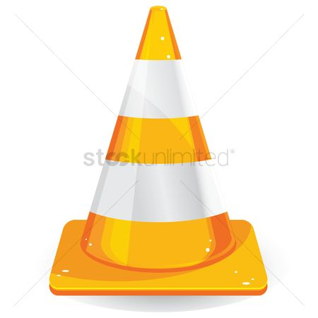 Caution : Traffic cone