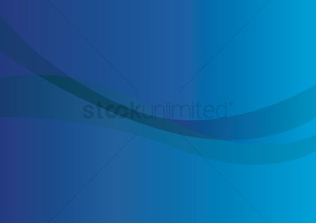 Fashions : Transparent swirl with blue background