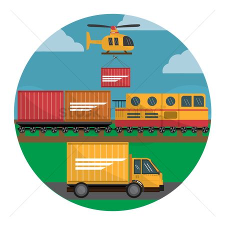 Helicopter : Transportation in logistic