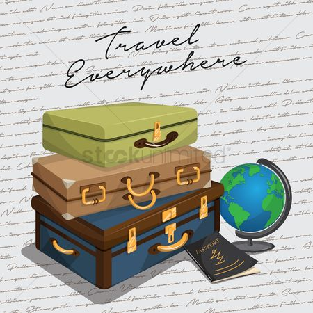 Cartography : Travel concept