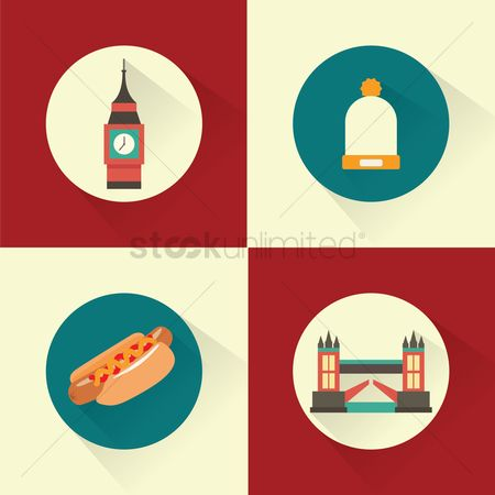 Hotdogs : Travel icons
