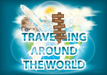 Touring : Travelling around the world wallpaper