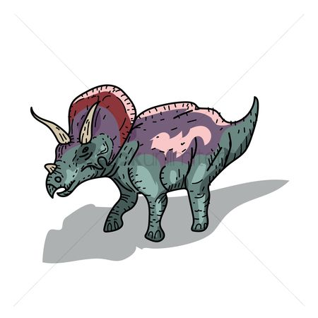 Horned : Triceratops