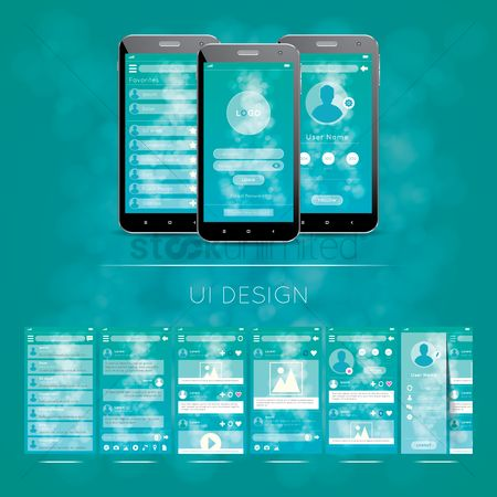 Screens : Ui design
