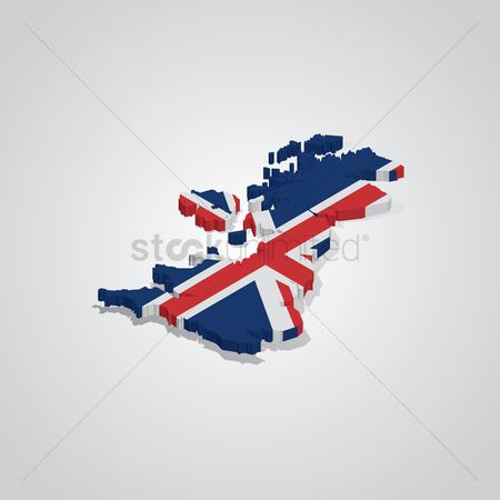 England : United kingdom map