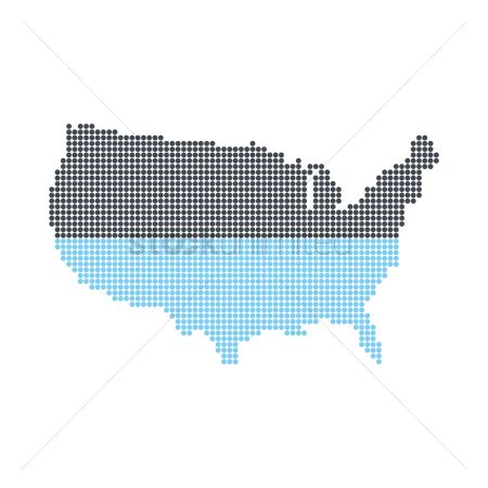Free Fill Stock Vectors StockUnlimited - Fill in us map