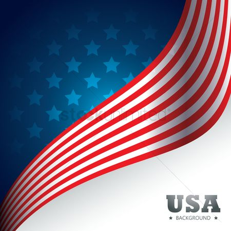 Patriotic : Usa background