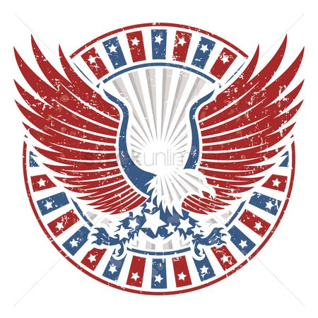Freedom : Usa eagle design