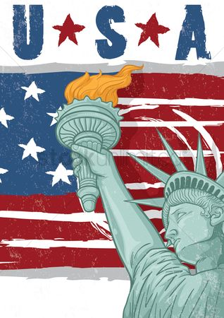 Statues : Usa poster