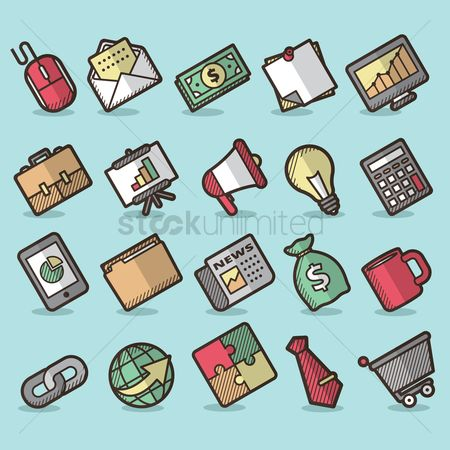 Briefcase : User interface icon set