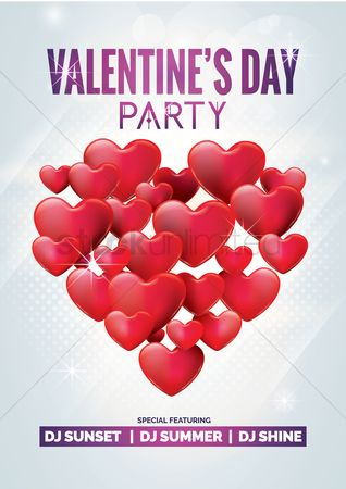 Dancing : Valentine party design