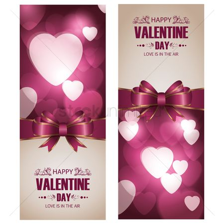 Romance : Valentine s day greeting card