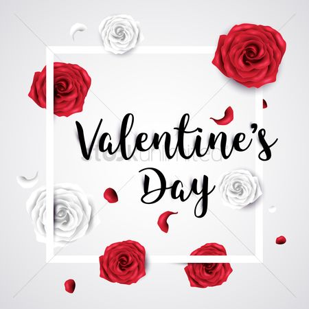Fonts : Valentines day greeting