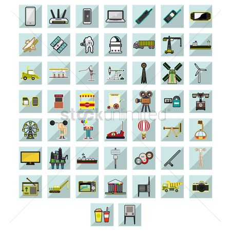 Builder : Variety of icons