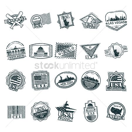 New york : Various american labels