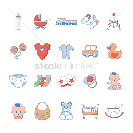 Duck : Various baby items