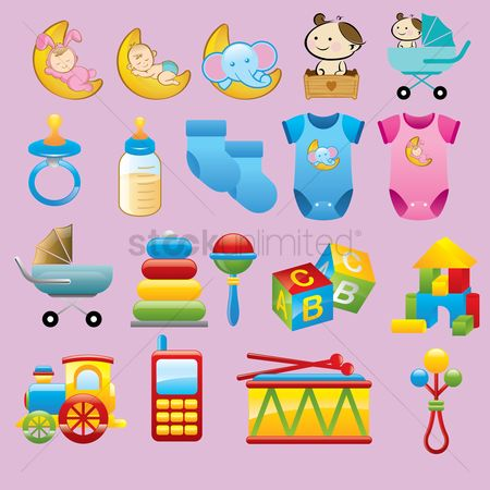 Phones : Various baby items
