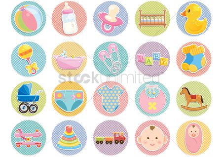 Beverage : Various baby items