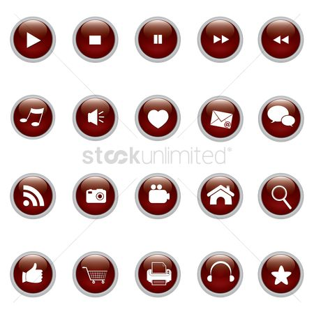 Favourites : Various buttons