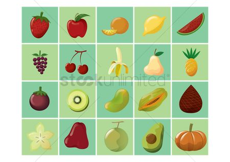 Watermelon : Various fruits