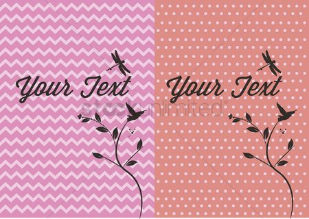 Background : Vector of a message card