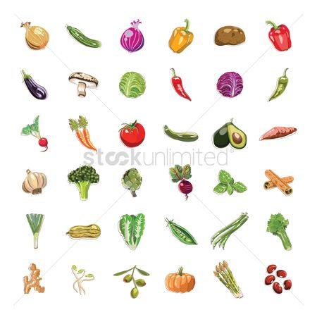 Fruit : Vegetable and fruit collection