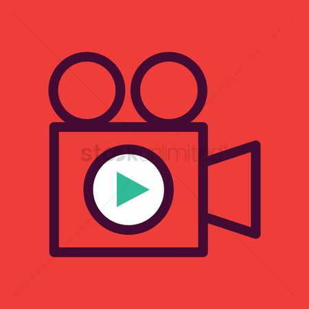 Applications : Video camera icon
