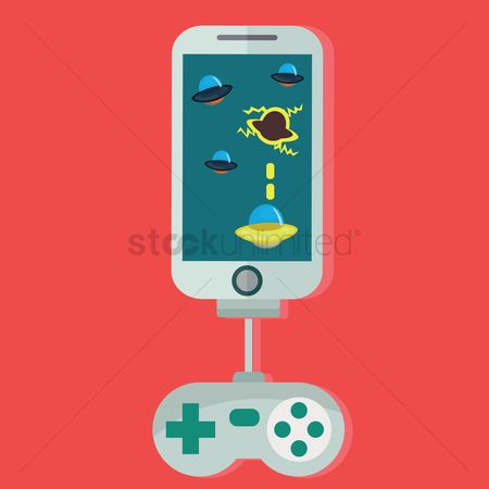 Saucer : Video game design in smartphone