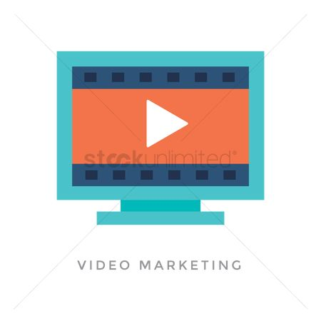 Videos : Video marketing concept