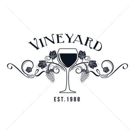 Grapes : Vineyard label
